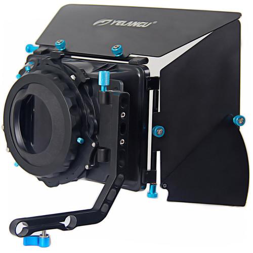 "YELANGU M2 Matte Box with Two 4 x 4"" Filter Trays"