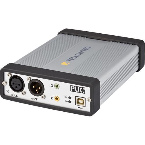 Yellowtec PUC2 High-Definition USB Audio Interface with AES3 XLR I/O and Analog Line XLR I/O