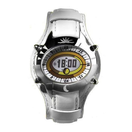 Yes Watch T600.3 TATI 3.0 Watch (Duo Steel Finish with White Band)