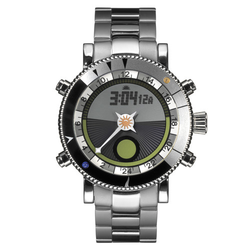 Yes Watch W500.4 WorldWatch II Symbol Bezel (Stainless Steel, Black)