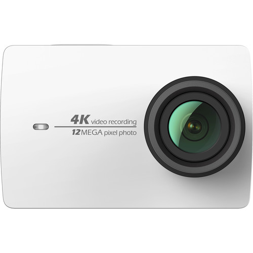 YI Technology 4K Action Camera with Waterproof Case Kit (White)