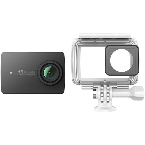 YI Technology 4K Action Camera with Waterproof Case Kit