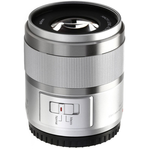 YI Technology 42.5mm f/1.8 Lens for Micro Four Thirds (Ice Silver)
