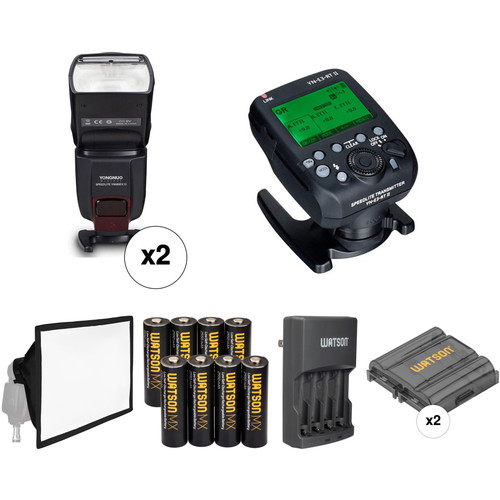 Yongnuo YN565EX III Wireless Flash Kit for Canon Cameras