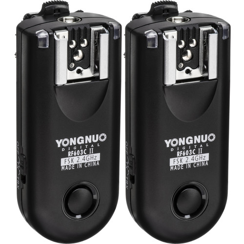 Yongnuo RF-603C II Wireless Flash Trigger Kit for Canon 3-Pin Connection