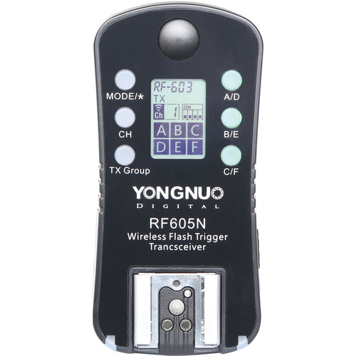 Yongnuo RF-605-N Wireless Transceiver Kit for Nikon