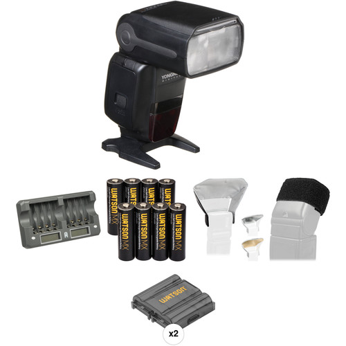 Yongnuo Speedlite YN600EX-RT Essential Portrait Kit for Canon Cameras