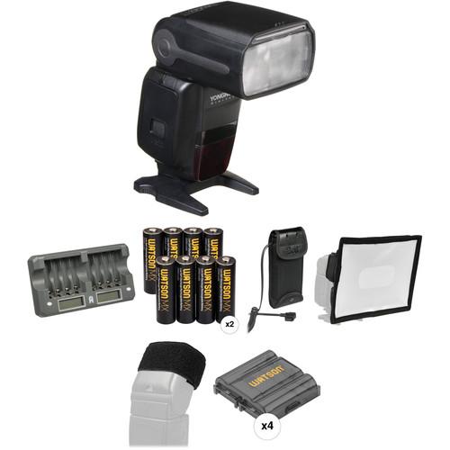Yongnuo Speedlite YN600EX-RT Essential Wedding & Event Kit for Canon Cameras