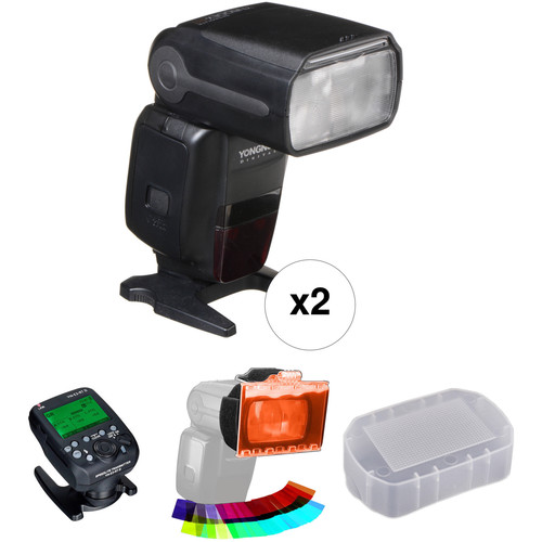 Yongnuo Speedlite YN600EX-RT Essential Wireless Two Flash Kit for Canon Cameras