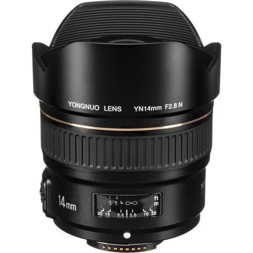 Yongnuo YN 14mm f/2.8N Lens for Nikon F