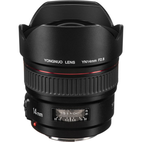 Yongnuo YN 14mm f/2.8 Lens for Canon EF