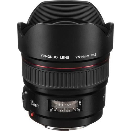 Yongnuo YN 14mm f/2.8 Lens for Canon EF