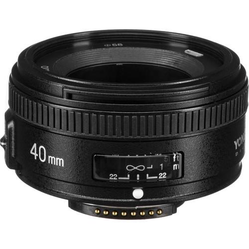 Yongnuo YN 40mm f/2.8N Lens for Nikon F