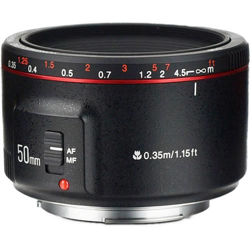 Yongnuo YN 50mm f/1.8 II Lens for Canon EF