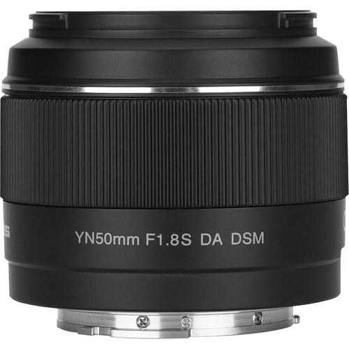 Yongnuo YN 50mm f/1.8S DA DSM Lens for Sony E