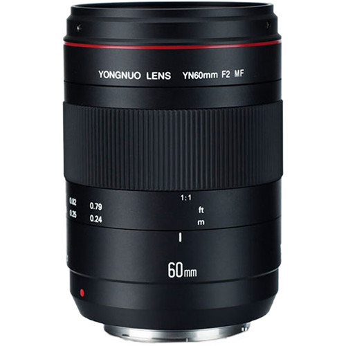 Yongnuo YN 60mm f/2 MF Lens for Canon EF