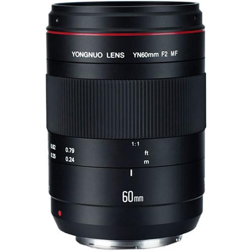 Yongnuo YN 60mm f/2 MF Lens for Canon EF