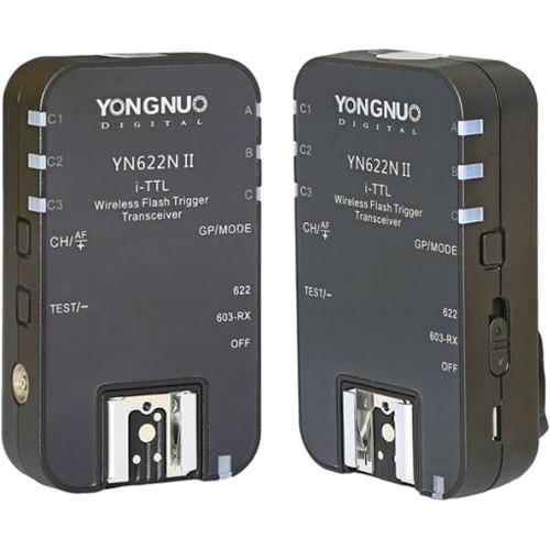 Yongnuo i-TTL Transceiver YN622N II for Nikon Cameras (2-Pack)
