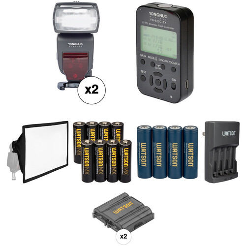 Yongnuo YN685 Speedlite Wireless Flash Kit for Canon Cameras