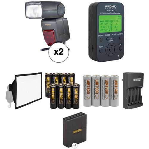 Yongnuo YN685 Speedlite Wireless Flash Kit for Nikon Cameras