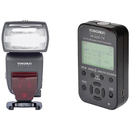 Yongnuo YN685 Wireless TTL Speedlite and Wireless Flash Controller Kit for Canon Cameras