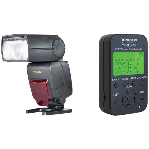 Yongnuo YN685 Wireless TTL Speedlite and Wireless Flash Controller Kit for Nikon Cameras