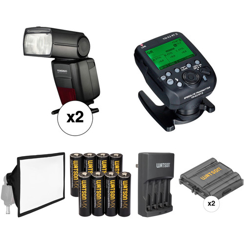 Yongnuo YN686EX-RT Speedlite Wireless Flash Kit for Canon Cameras