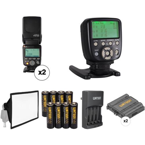Yongnuo YN720 Speedlite Wireless Flash Kit for Canon Cameras