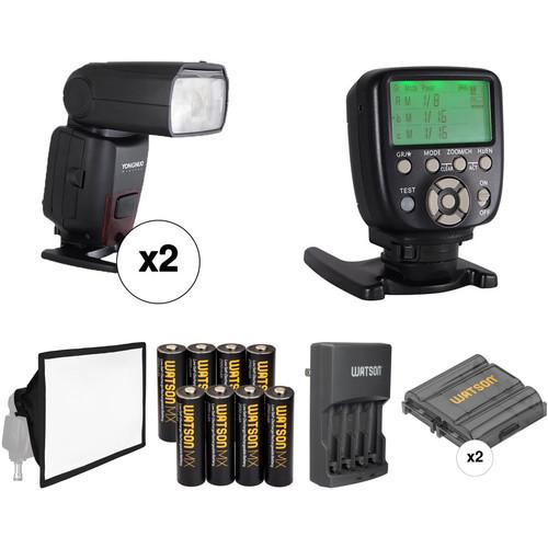 Yongnuo YN860Li Speedlite Wireless Flash Kit for Nikon Cameras