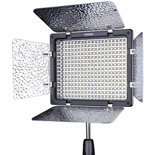 YONGNUO YN 160S PRO LED VIDEO LIGHT with SHOE MOUNT for CAMERAS CAMCORDERS