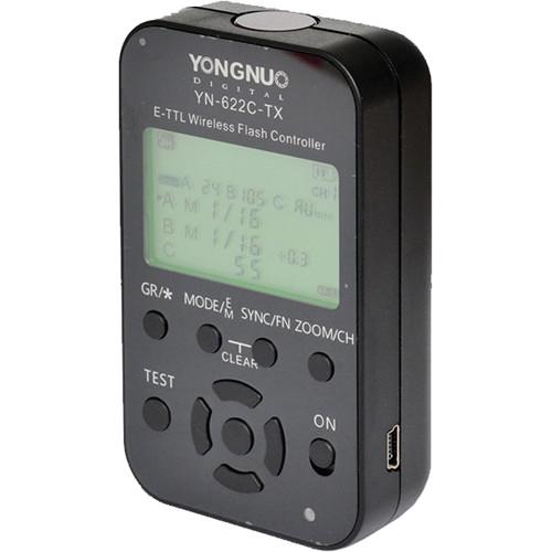 Yongnuo YN-622C-TX E-TTL II Wireless Flash Controller for Canon