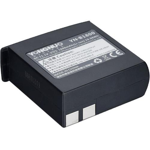 Yongnuo YN-B1800 Rechargeable Li-Ion Battery (11.1V, 1800mAh)