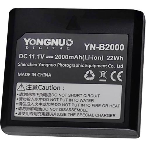 Yongnuo YN-B2000 Rechargeable Li-Ion Battery (11.1V, 2000mAh)