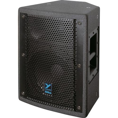 "Yorkville Sound E10B Elite Series 10"" Two-Way Loudspeaker (650 W, Black Ultrathane Painted Finish)"