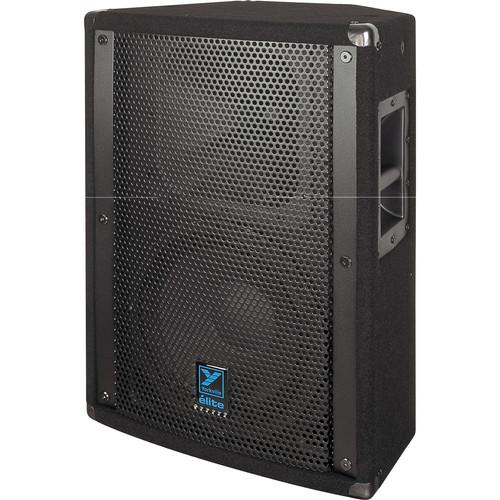 "Yorkville Sound E12 Elite Series 12"" Two-Way Loudspeaker (600 W, Black Ozite Carpet Finish)"