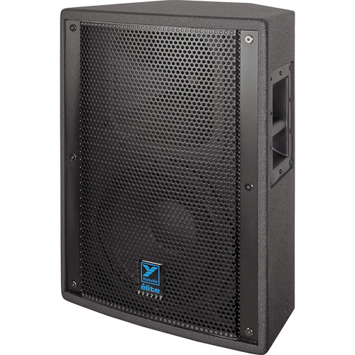 "Yorkville Sound E12B Elite Series 12"" Two-Way Loudspeaker (600 W, Black Ultrathane Painted Finish)"