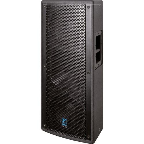 """Yorkville Sound E210B Elite Series Dual 10"""" Full Range Loudspeaker (1200 W, Black Ultrathane Painted Finish)"""