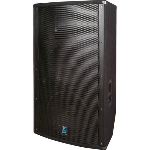 """Yorkville Sound E2152 Elite Series Dual 15"""" Loudspeaker (1600 W, Black Ozite Carpet Finish)"""