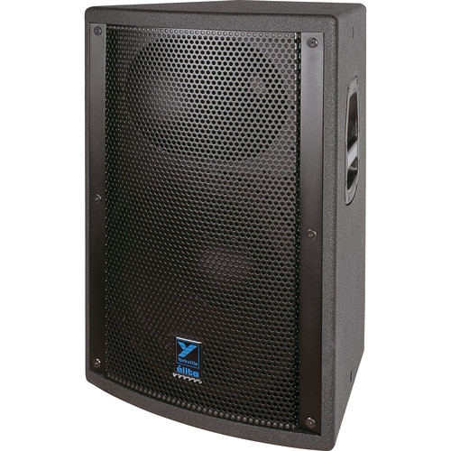 "Yorkville Sound EF500P Elite Series 2-Way 15"" Powered Loudspeaker (1000 W, Black Ozite Carpet Finish)"