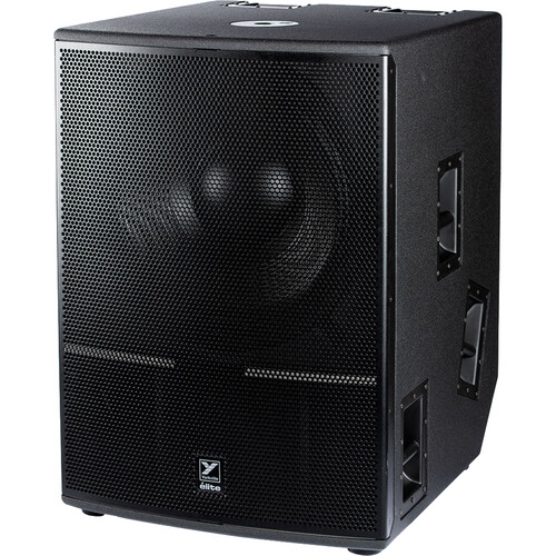"""Yorkville Sound ES21P Elite Series 21"""" 2400W Powered Subwoofer with Bluetooth Control"""