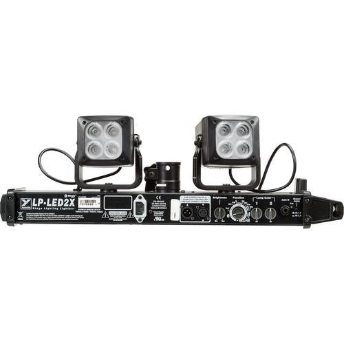 Yorkville Sound LP-LED2X 2-Head High-Performance LED Lighting System