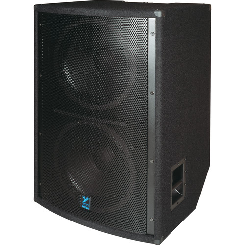 "Yorkville Sound LS1004 2 x 18"" Elite Series Passive Subwoofer (2,800W, Black Ozite Carpet)"