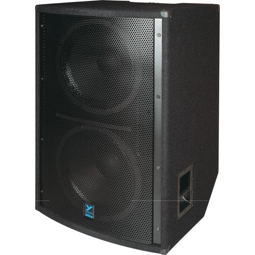 "Yorkville Sound LS1004B 2 x 18"" Elite Series Passive Subwoofer (2,800W, Black Ultrathane Paint)"