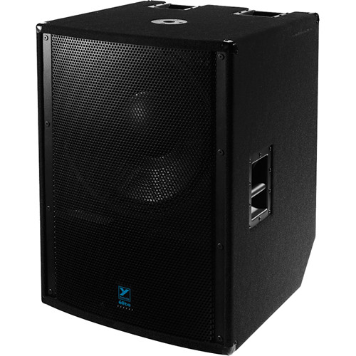 "Yorkville Sound LS2100PB 21"" Elite Series Powered Subwoofer (2400W, Black Ultrathane Paint)"