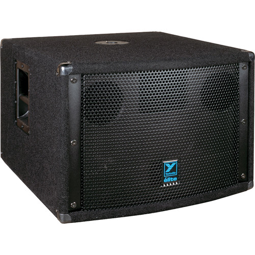 "Yorkville Sound LS701P 2 x 10"" Elite Series Powered Subwoofer (720W, Black Ozite Carpet)"