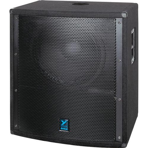 "Yorkville Sound LS801P 18"" Elite Series Powered Subwoofer (1500W, Black Ozite Carpet)"