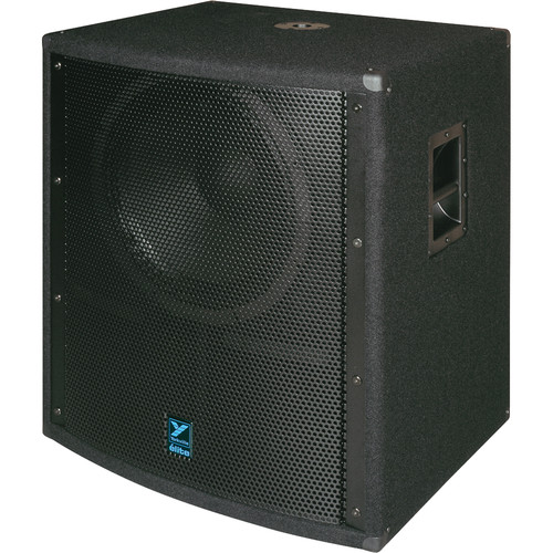 "Yorkville Sound LS808B 18"" Elite Series Passive Subwoofer (1,400W, Black Ultrathane Paint)"