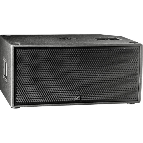 "Yorkville Sound PSA2S Paraline Series 2 x 15"" Active Bass Reflex Subwoofer with Flying Hardware (2400W)"