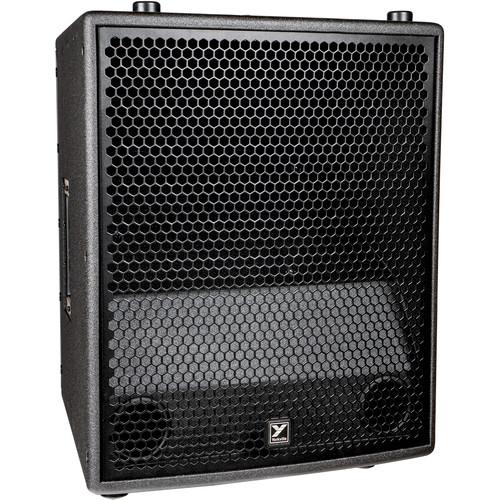 "Yorkville Sound SA153 Synergy Array Series 15"" 3-Way Powered Portable PA Speaker"