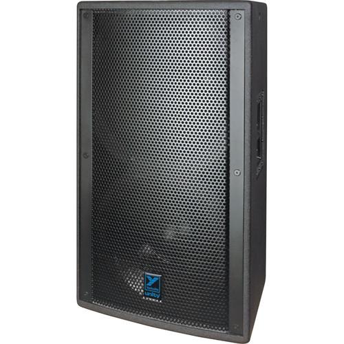 Yorkville Sound Unity Passive Series U15 3-Way 2000W Bi-Amp Full Range Loudspeaker (Black Ozite)